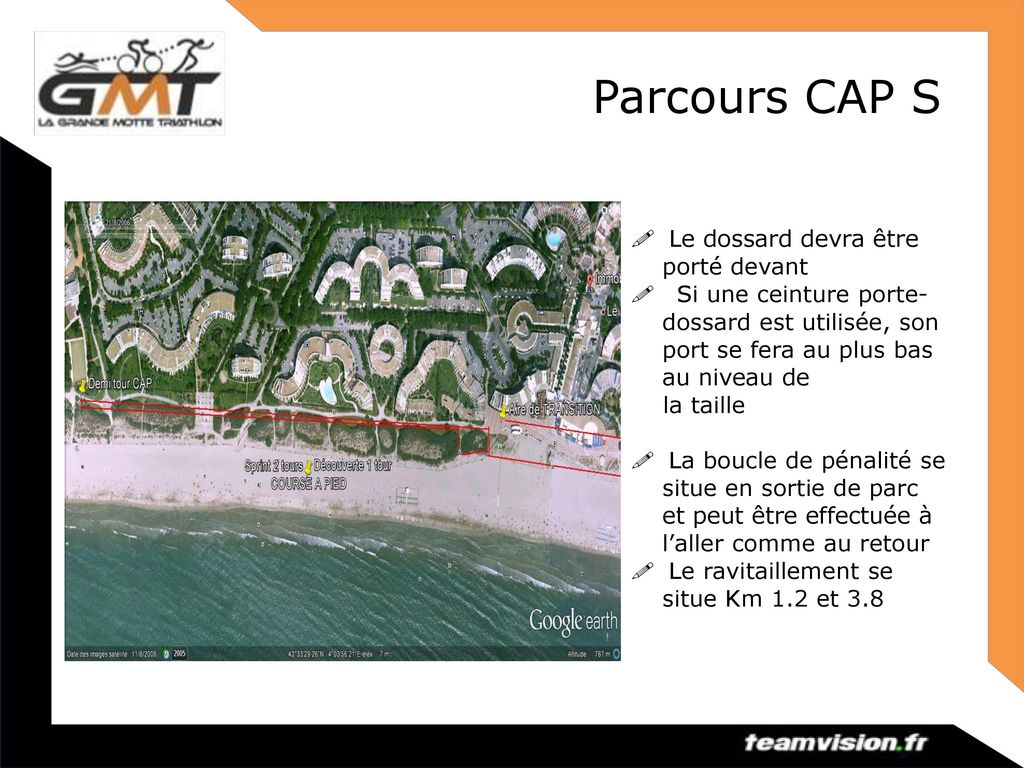 Parcours Vélo 1Tour ! Respect du code de la route. DRAFTING INTERDIT