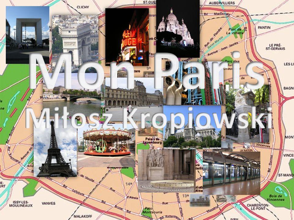 Mon Paris Miłosz Kropiowski