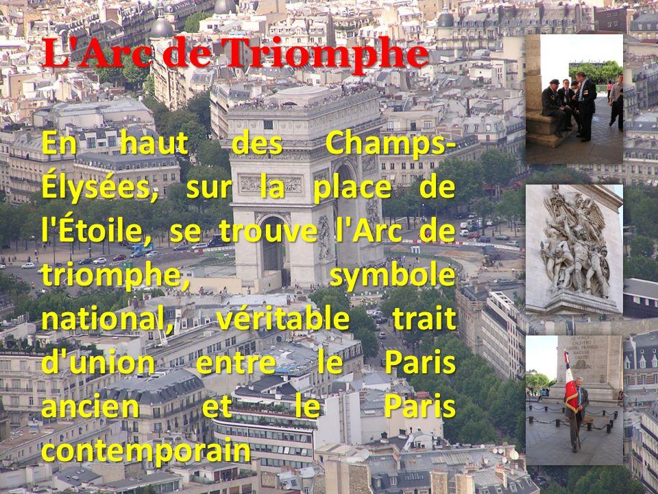 L Arc de Triomphe
