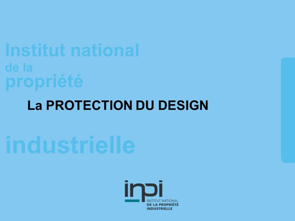 La PROTECTION DU DESIGN