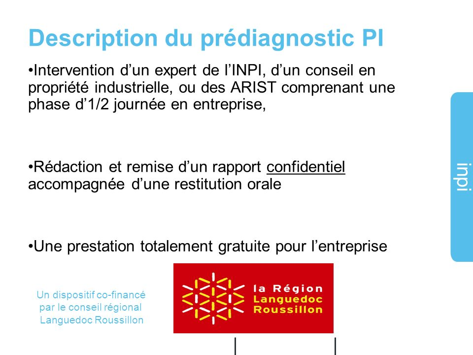 Description du prédiagnostic PI