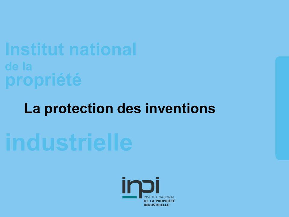 La protection des inventions