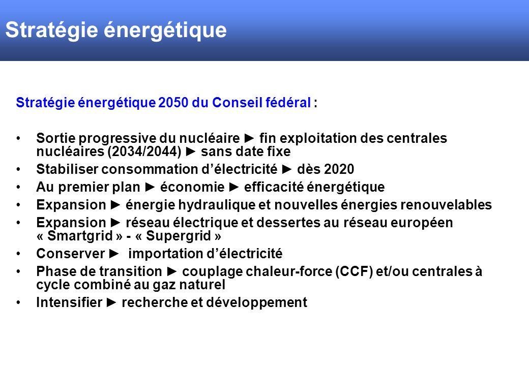Stratégie énergétique