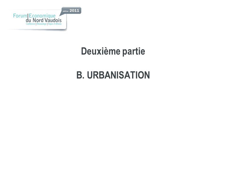 Deuxième partie B. URBANISATION