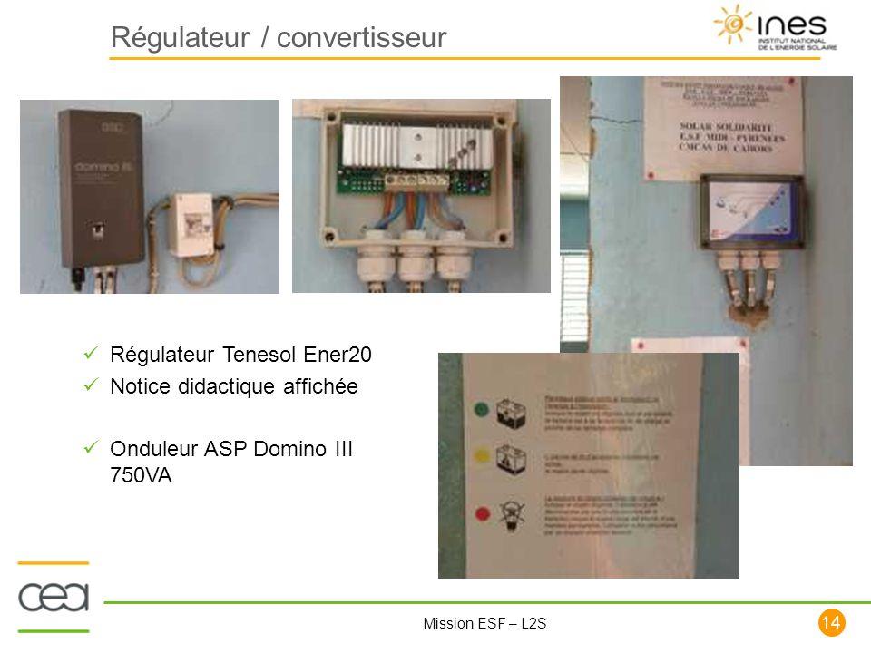 Régulateur / convertisseur