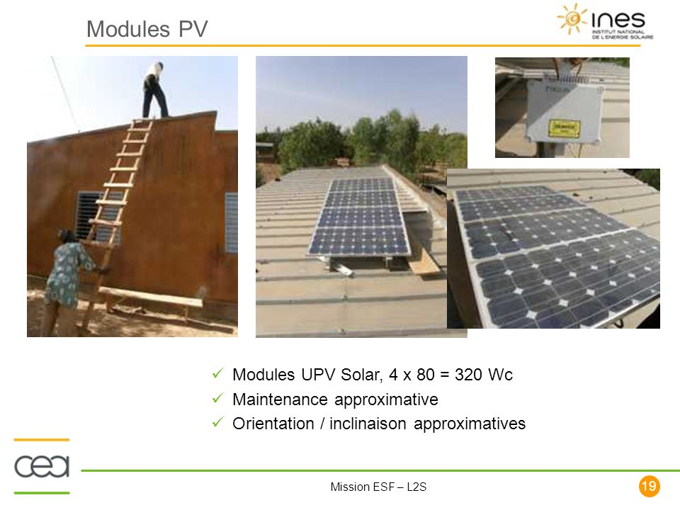 Modules PV Modules UPV Solar, 4 x 80 = 320 Wc