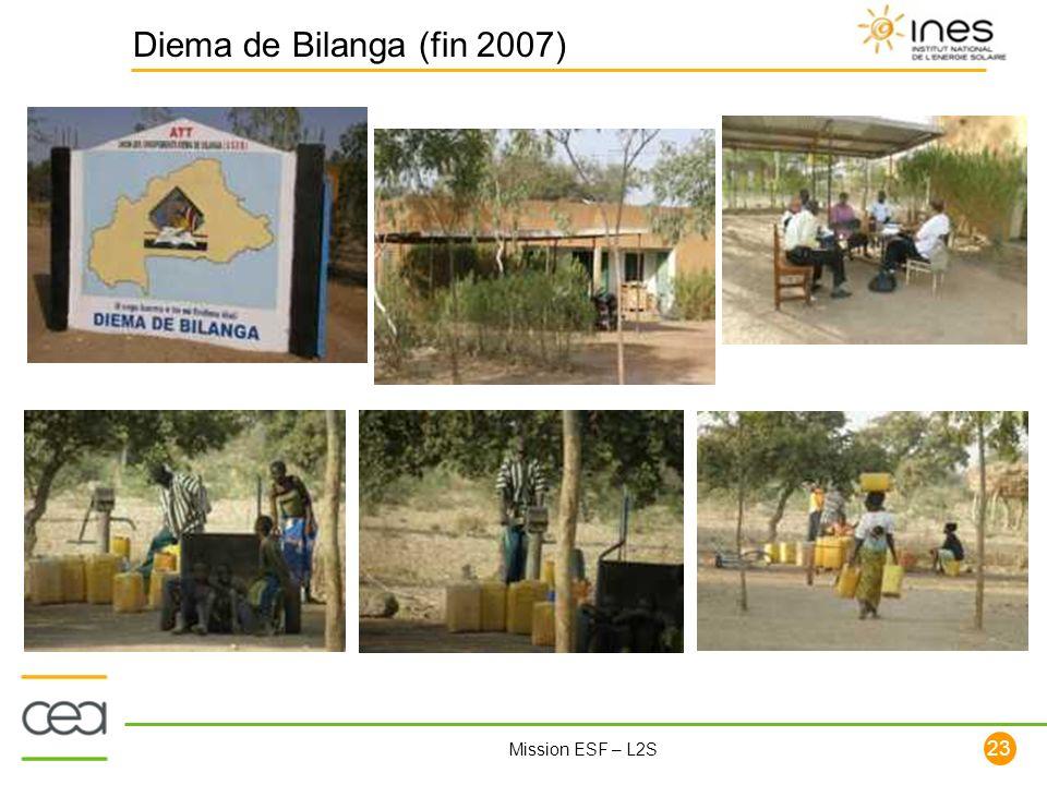 Diema de Bilanga (fin 2007)