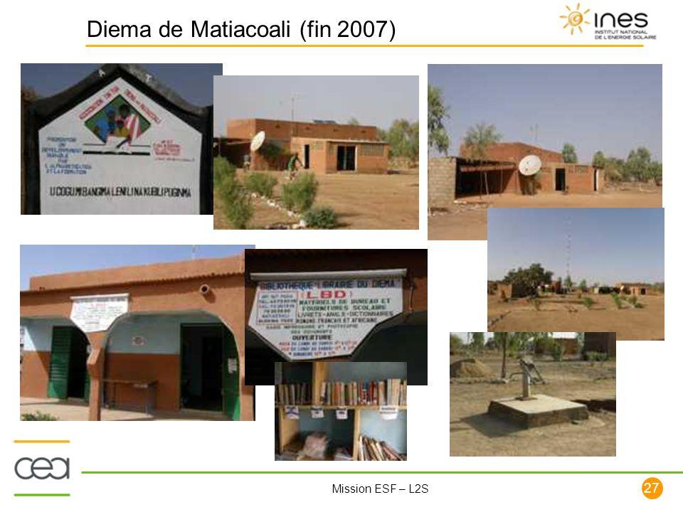 Diema de Matiacoali (fin 2007)