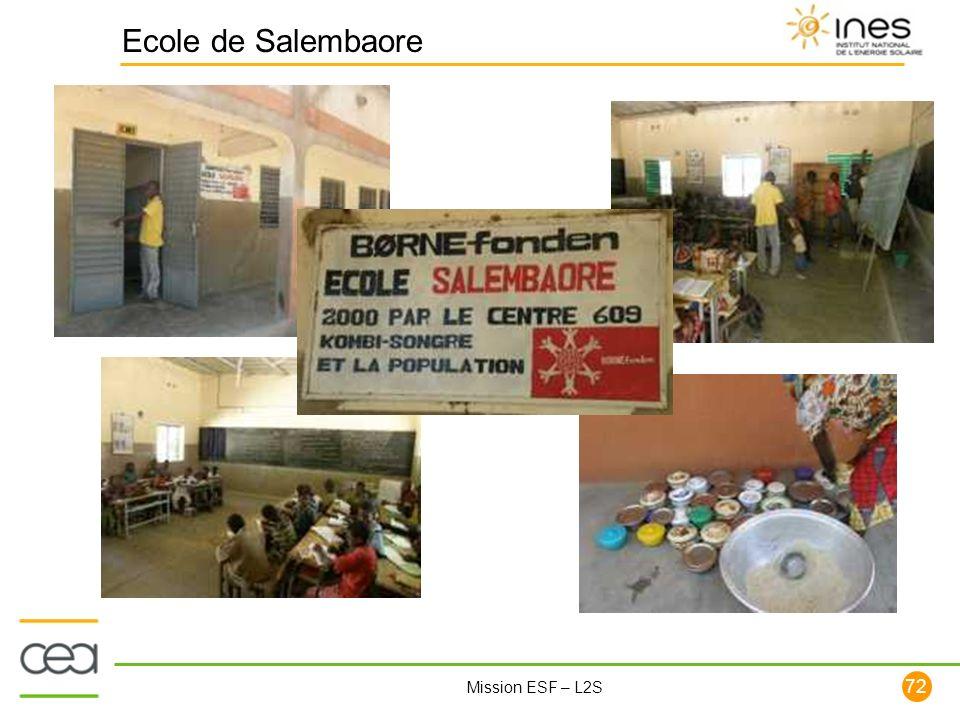 Ecole de Salembaore