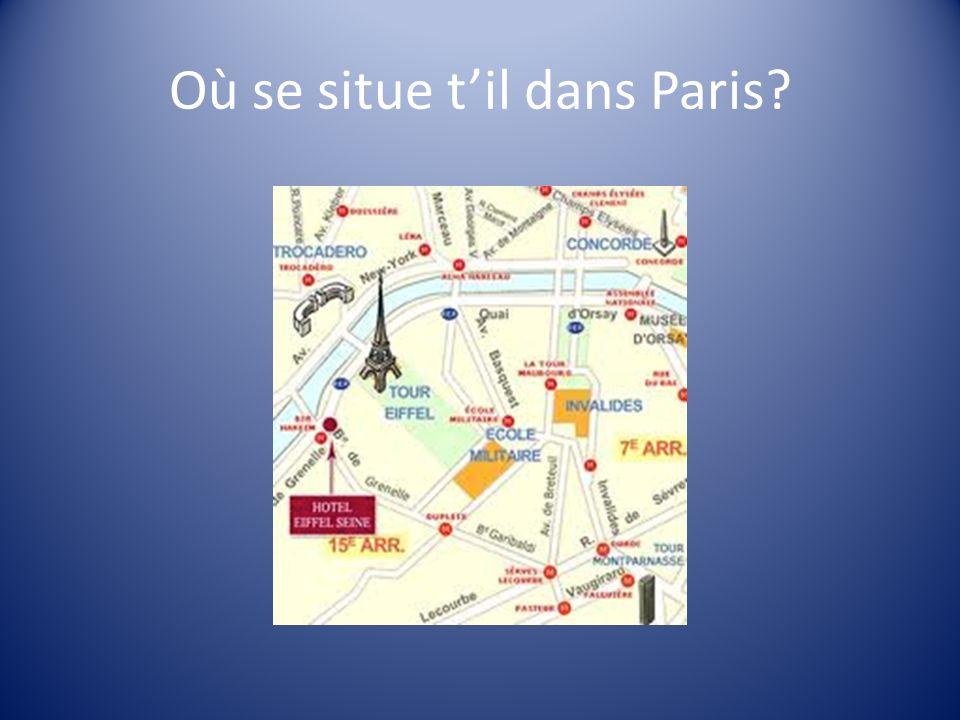 Où se situe t'il dans Paris