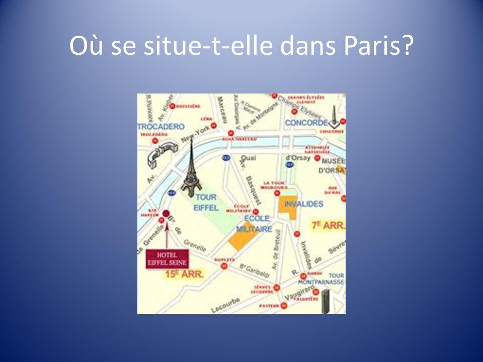 Où se situe-t-elle dans Paris