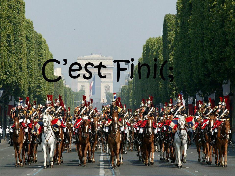 C'est Fini(;