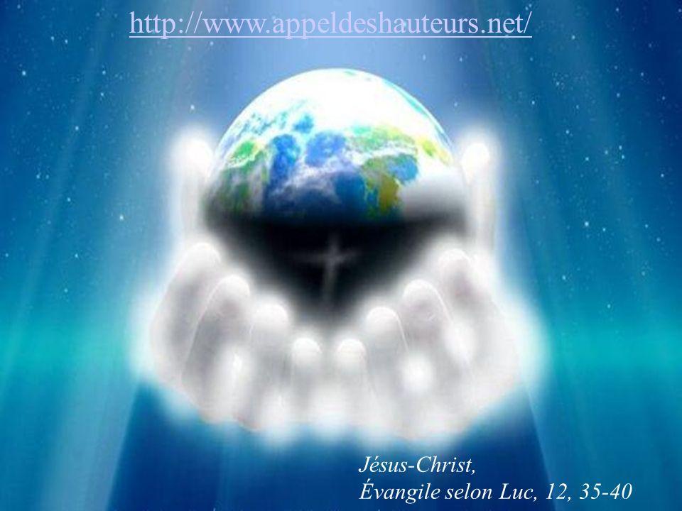 Jésus-Christ, Évangile selon Luc, 12, 35-40