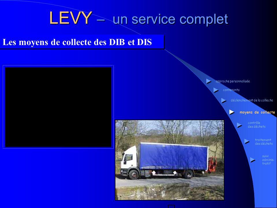 LEVY – un service complet