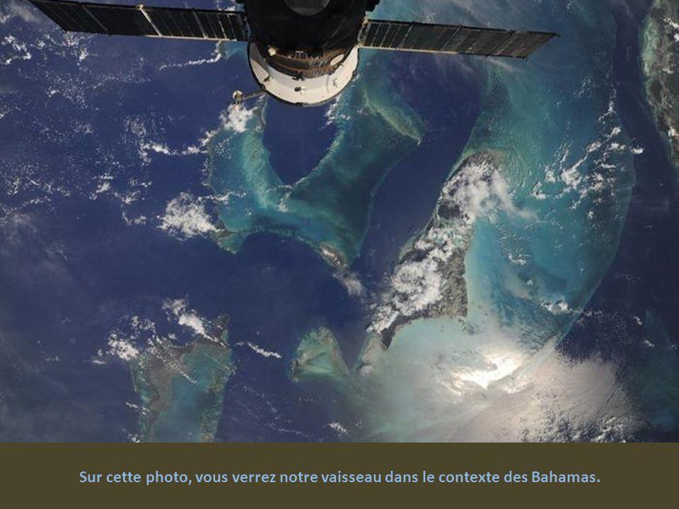Sur cette photo, vous verrez notre vaisseau dans le contexte des Bahamas.