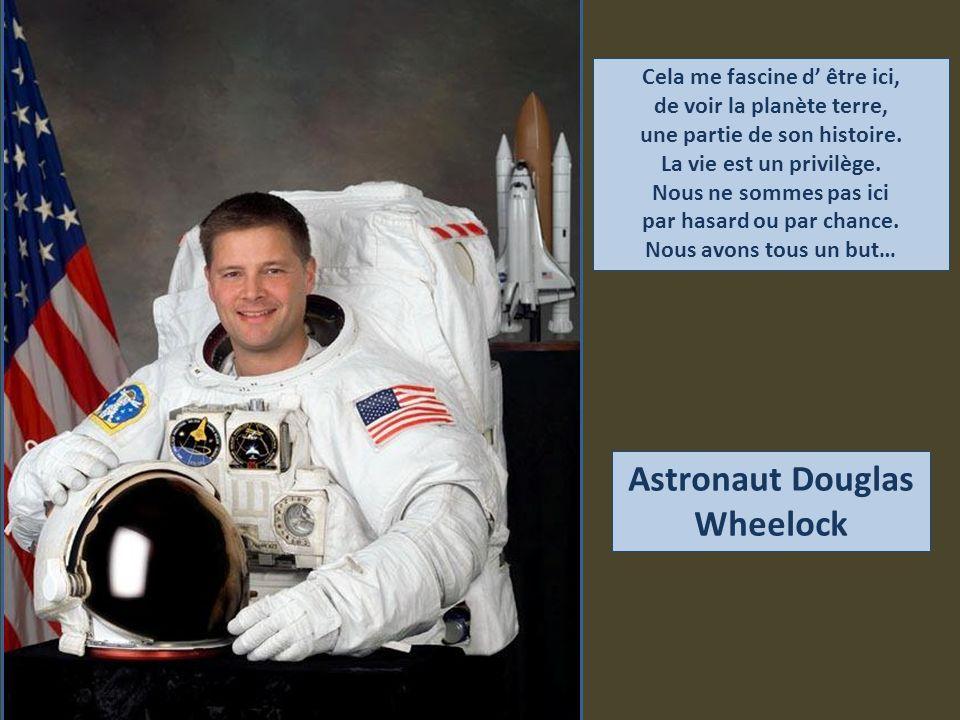 Astronaut Douglas Wheelock