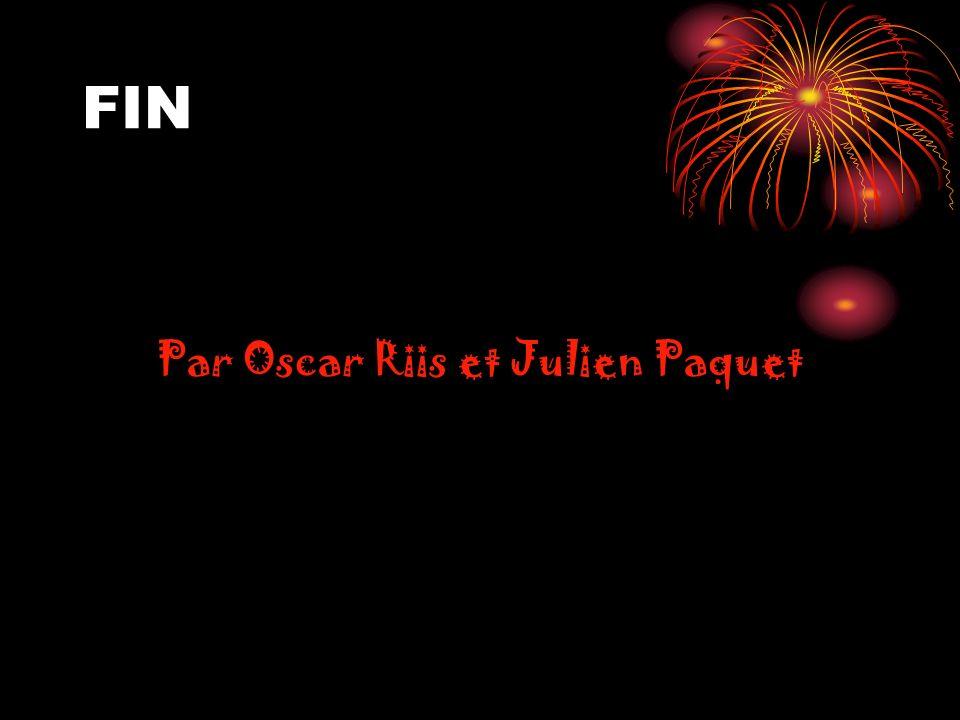 Par Oscar Riis et Julien Paquet