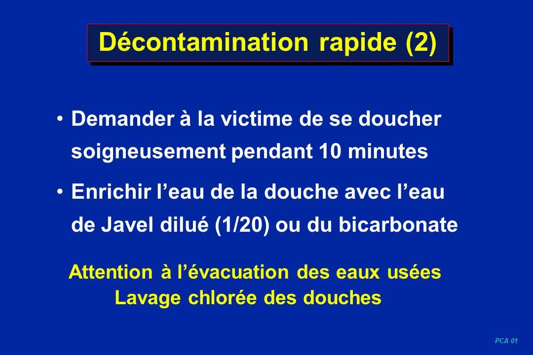 Décontamination rapide (2)