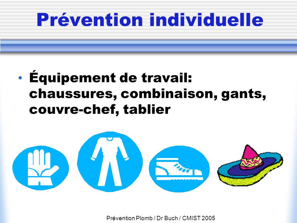 Prévention individuelle