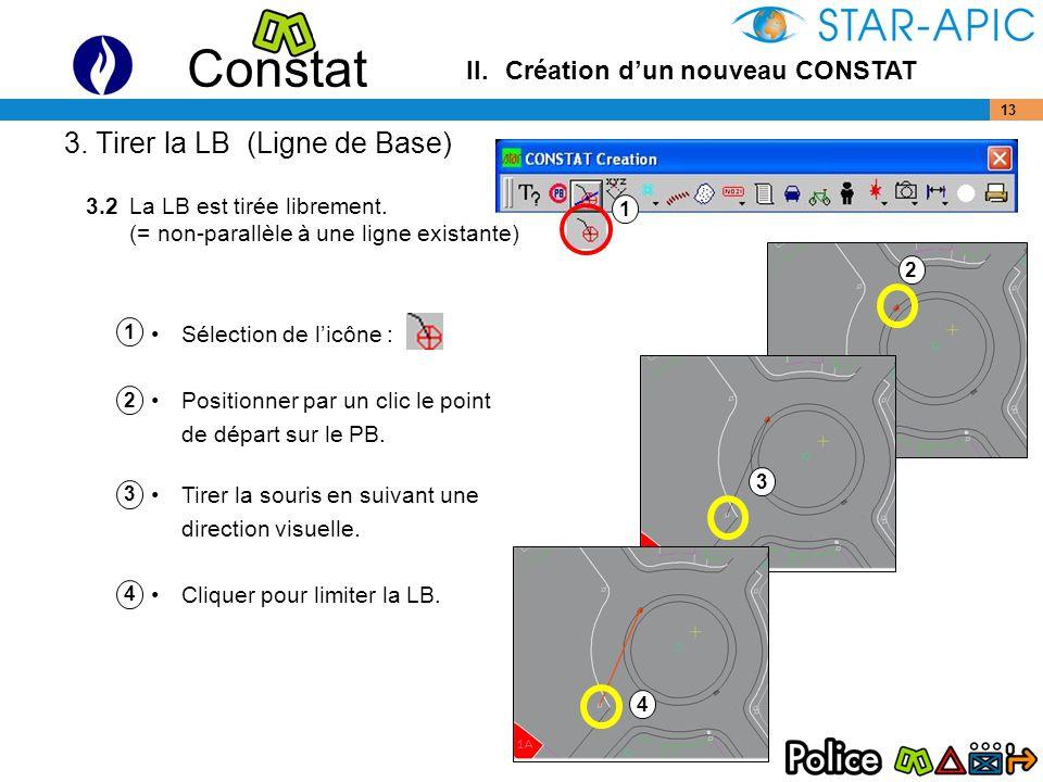 3. Tirer la LB (Ligne de Base)