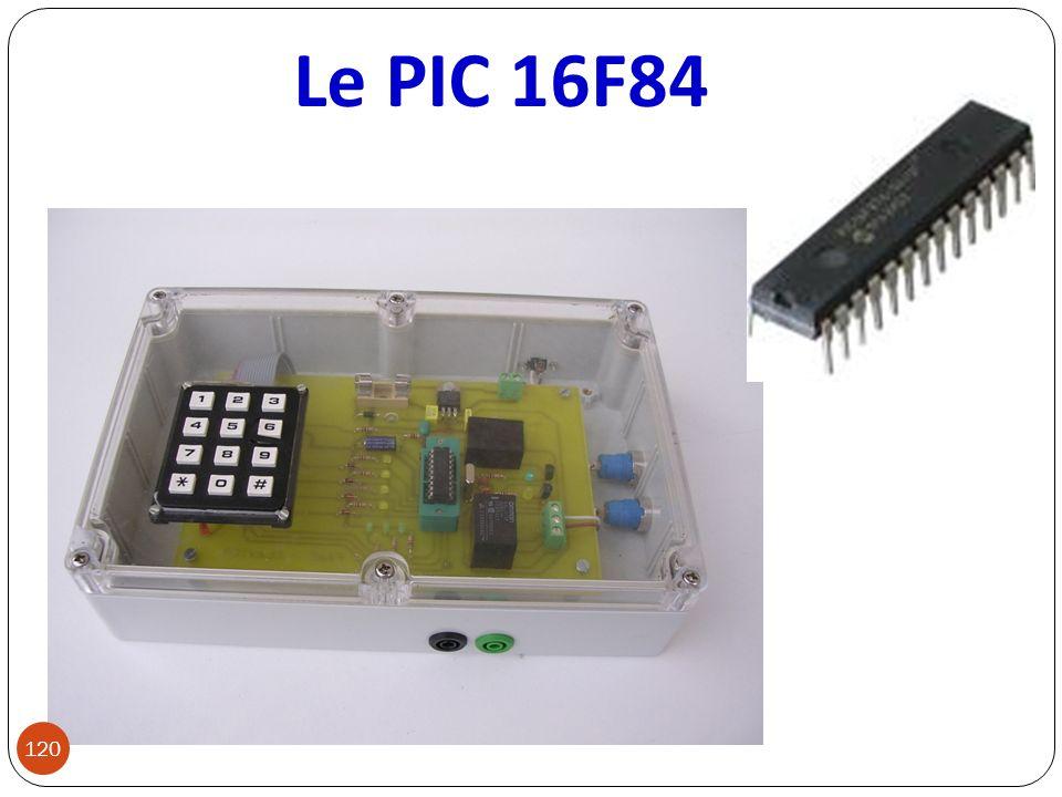 Le PIC 16F84