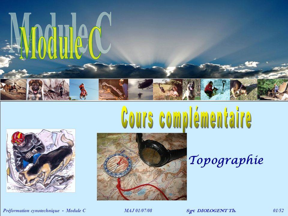 Module C Topographie Cours complémentaire