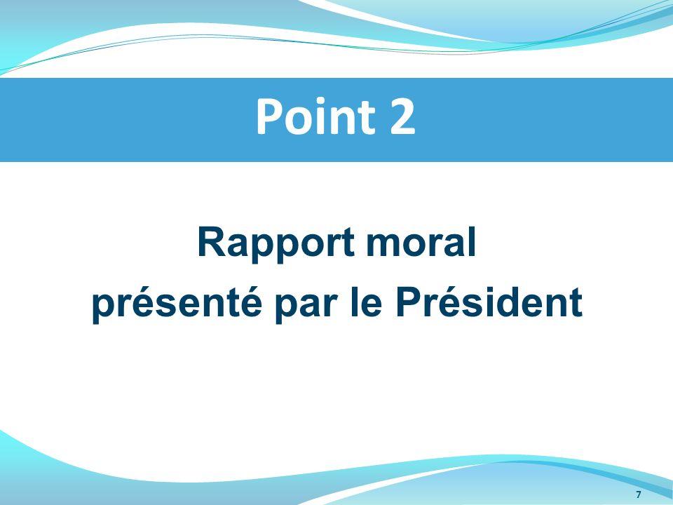 présenté par le Président