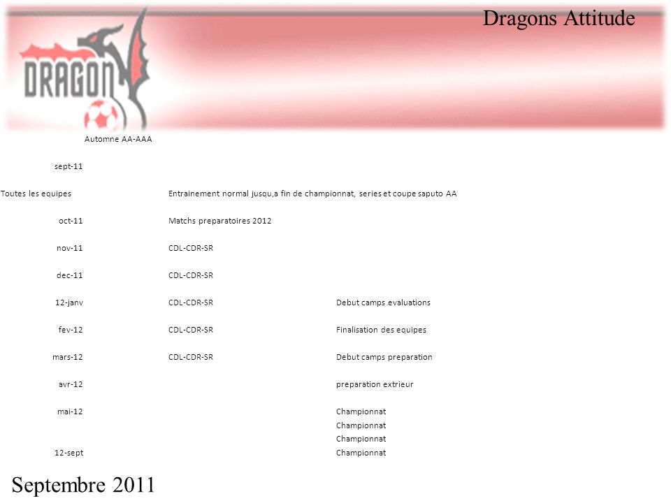 Dragons Attitude Septembre 2011 Automne AA-AAA sept-11