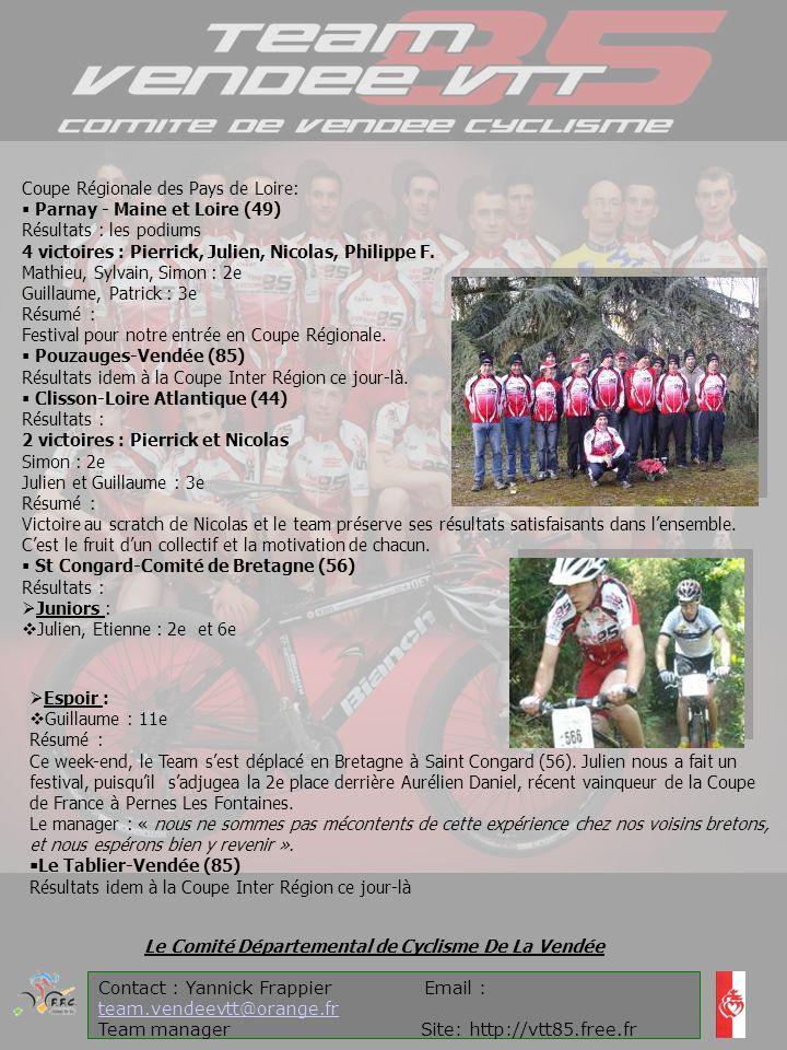 Coupe Régionale des Pays de Loire:  Parnay - Maine et Loire (49)