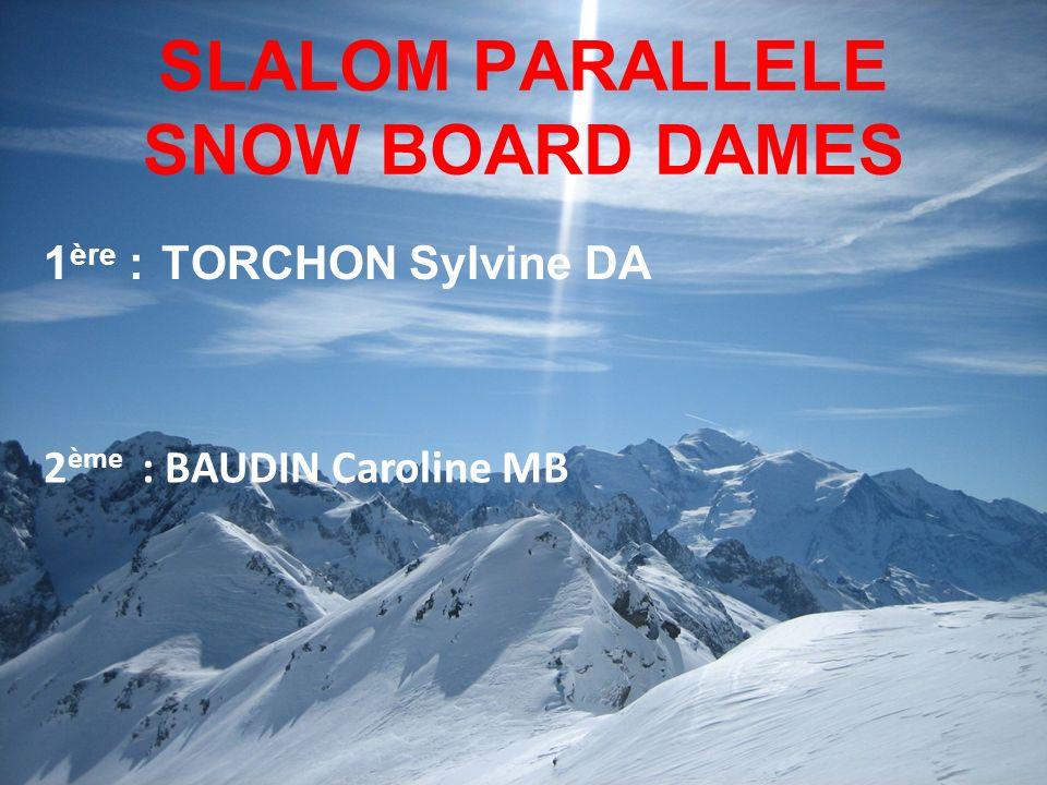 SLALOM PARALLELE SNOW BOARD DAMES