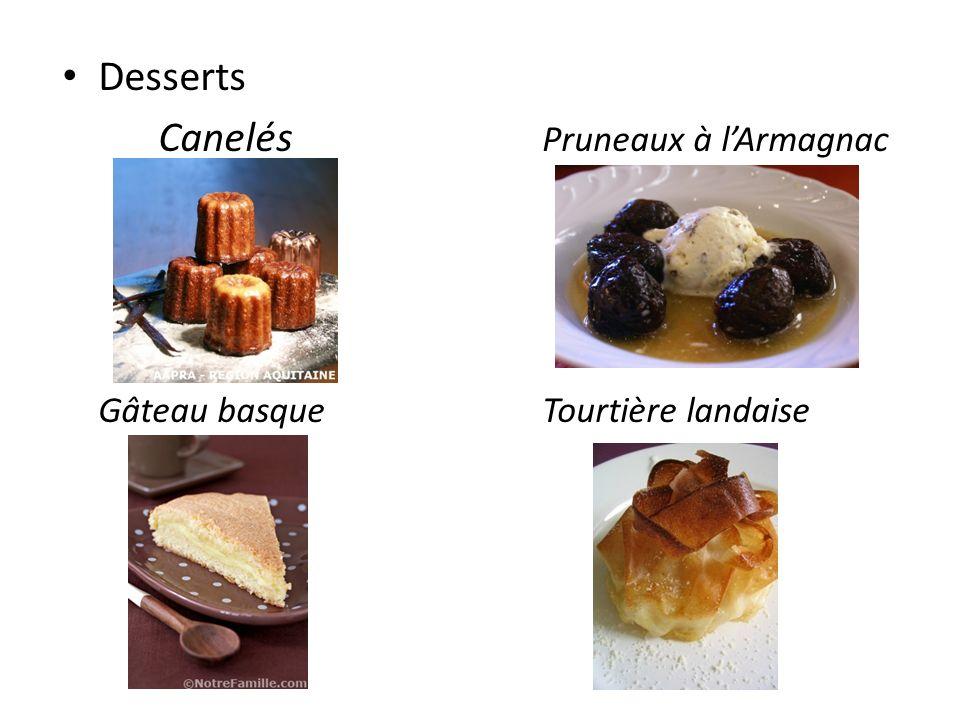 Canelés Pruneaux à l'Armagnac