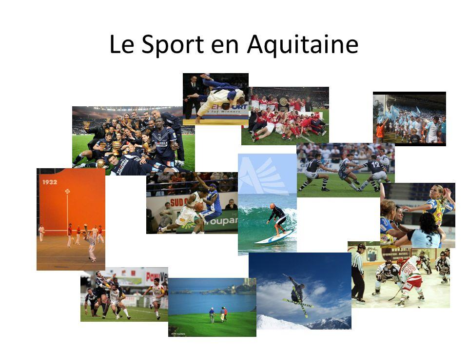 Le Sport en Aquitaine