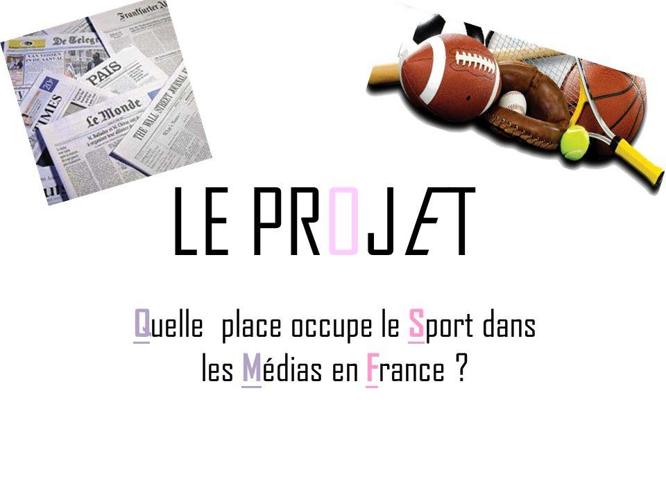 Quelle place occupe le Sport dans les Médias en France