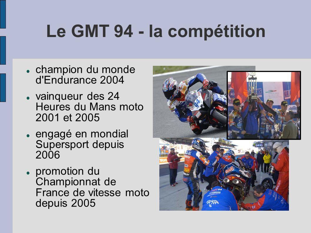 Le GMT 94 - la compétition champion du monde d Endurance 2004