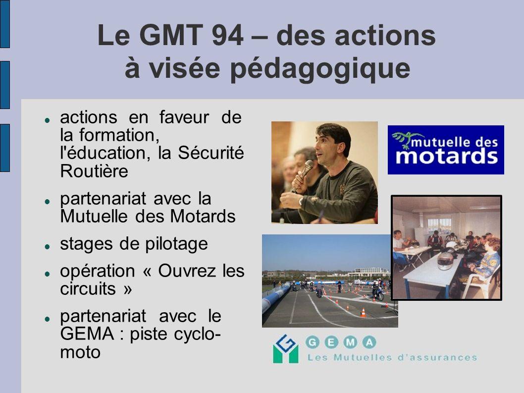 Le GMT 94 – des actions à visée pédagogique