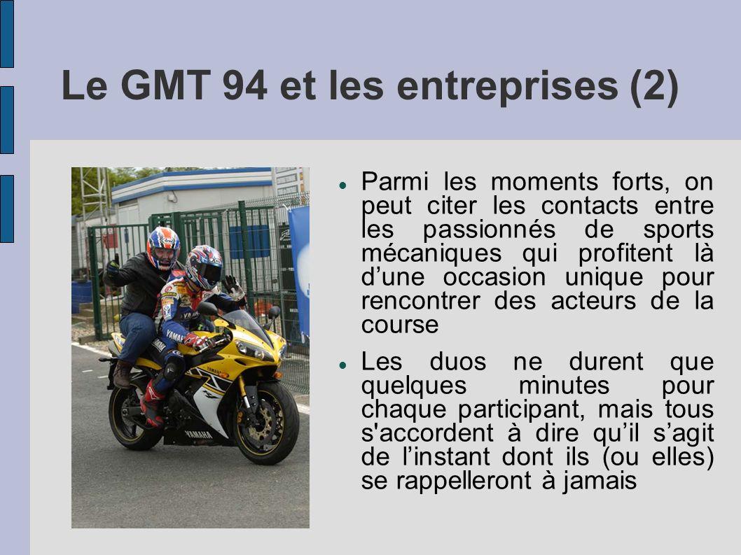 Le GMT 94 et les entreprises (2)