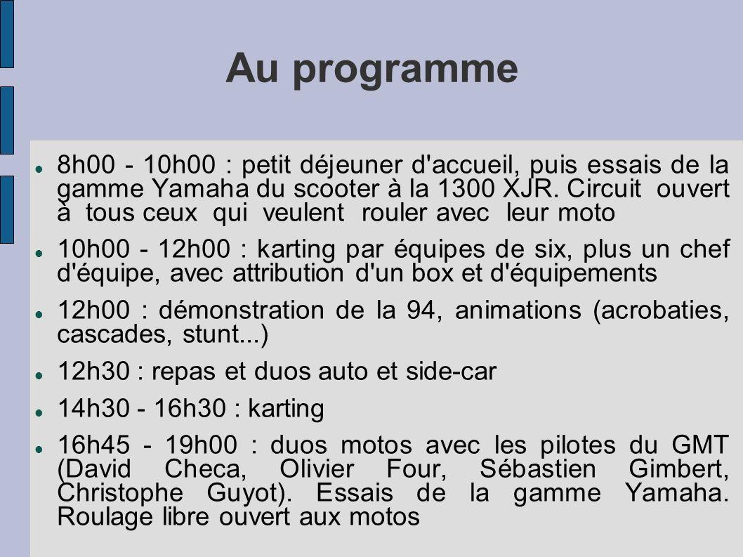Au programme