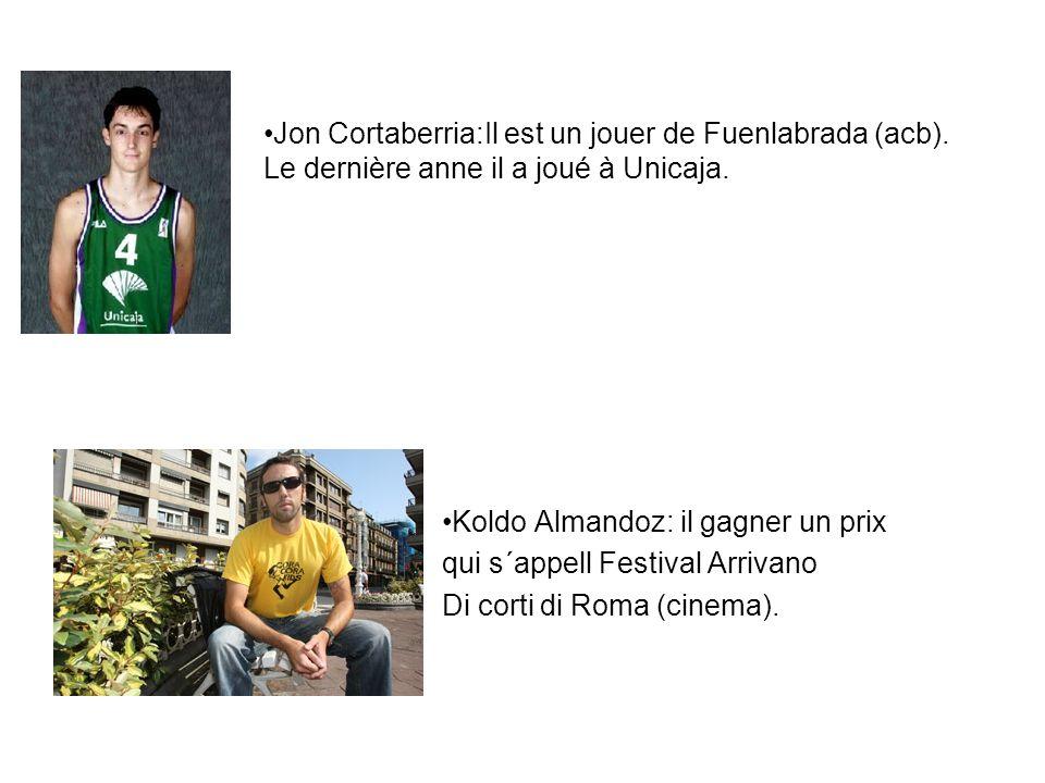 Jon Cortaberria:Il est un jouer de Fuenlabrada (acb)