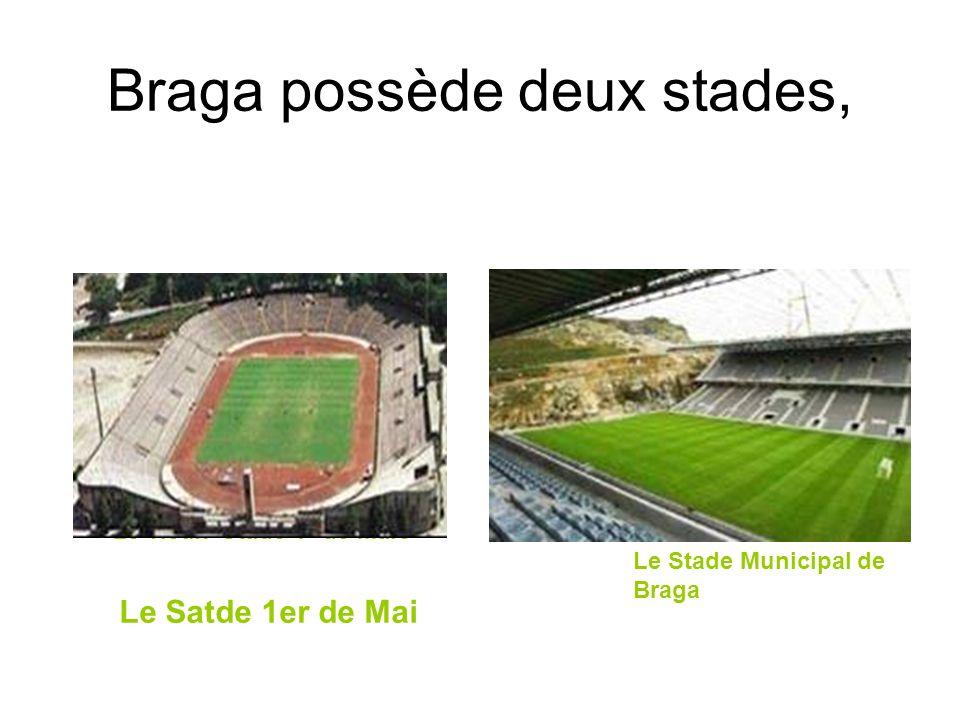 Braga possède deux stades,