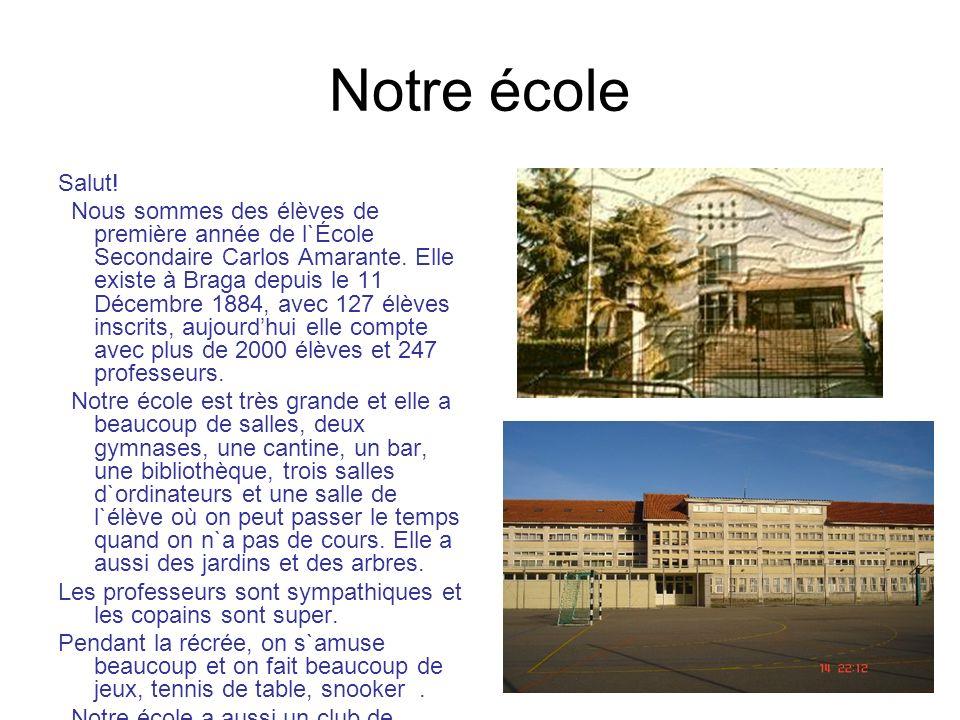 Notre école Salut!