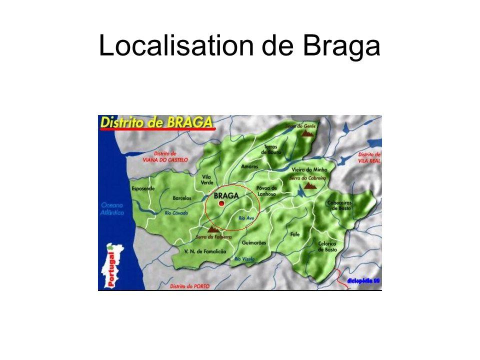 Localisation de Braga
