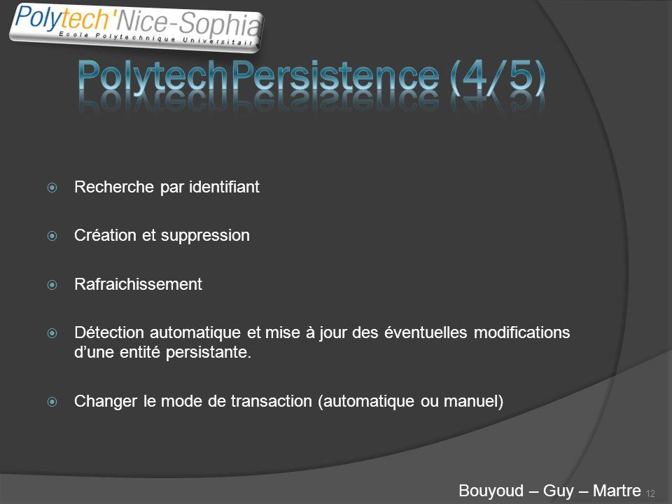 PolytechPersistence (4/5)