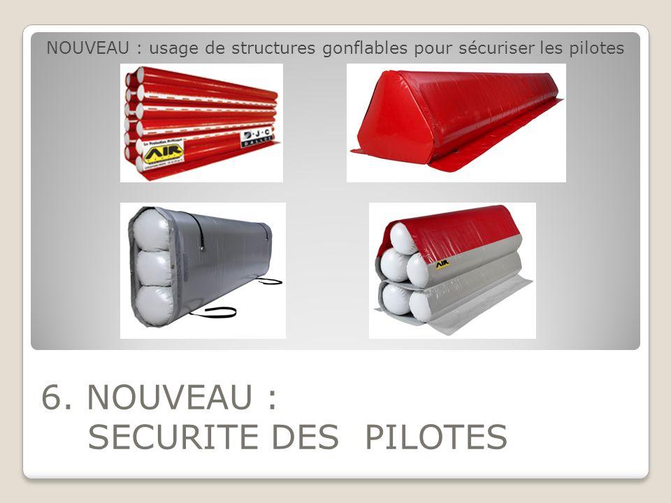 6. NOUVEAU : SECURITE DES PILOTES