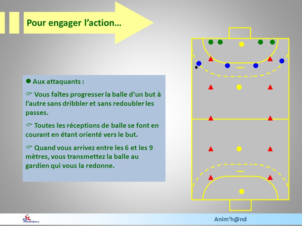 Pour engager l'action…