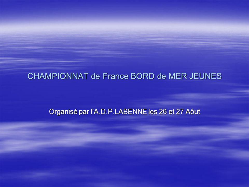 CHAMPIONNAT de France BORD de MER JEUNES