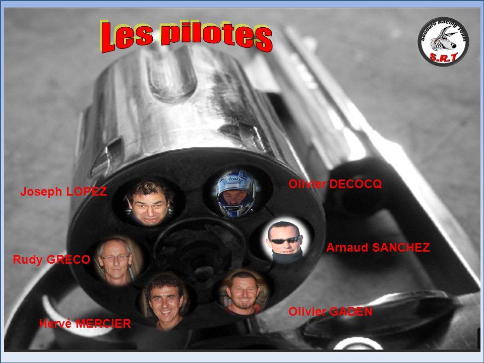 Les pilotes Olivier DECOCQ Joseph LOPEZ Arnaud SANCHEZ Rudy GRECO