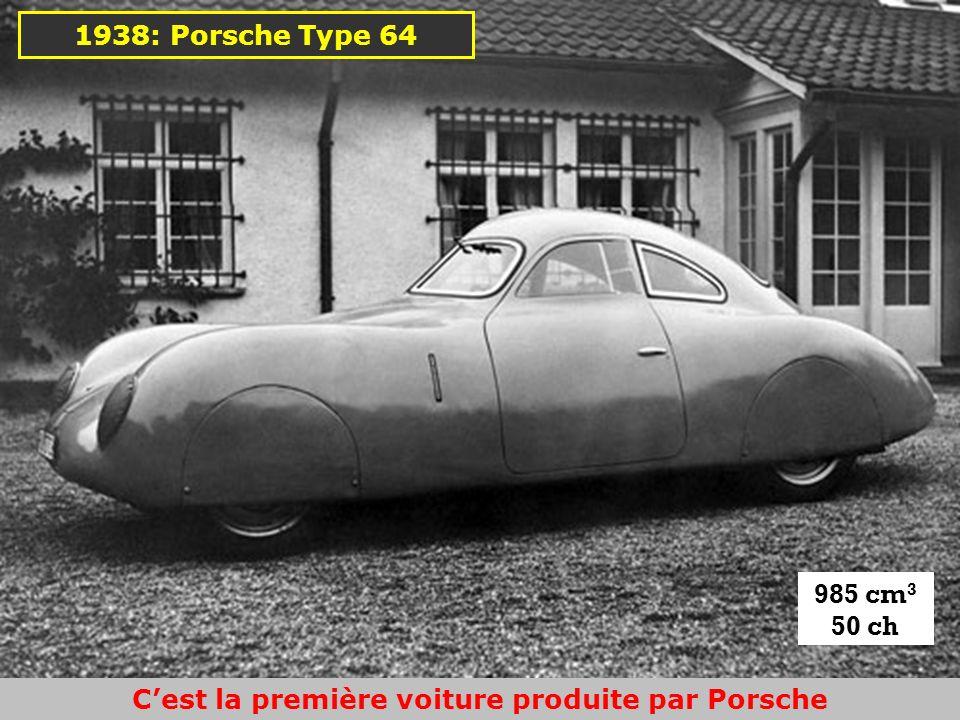 C'est la première voiture produite par Porsche