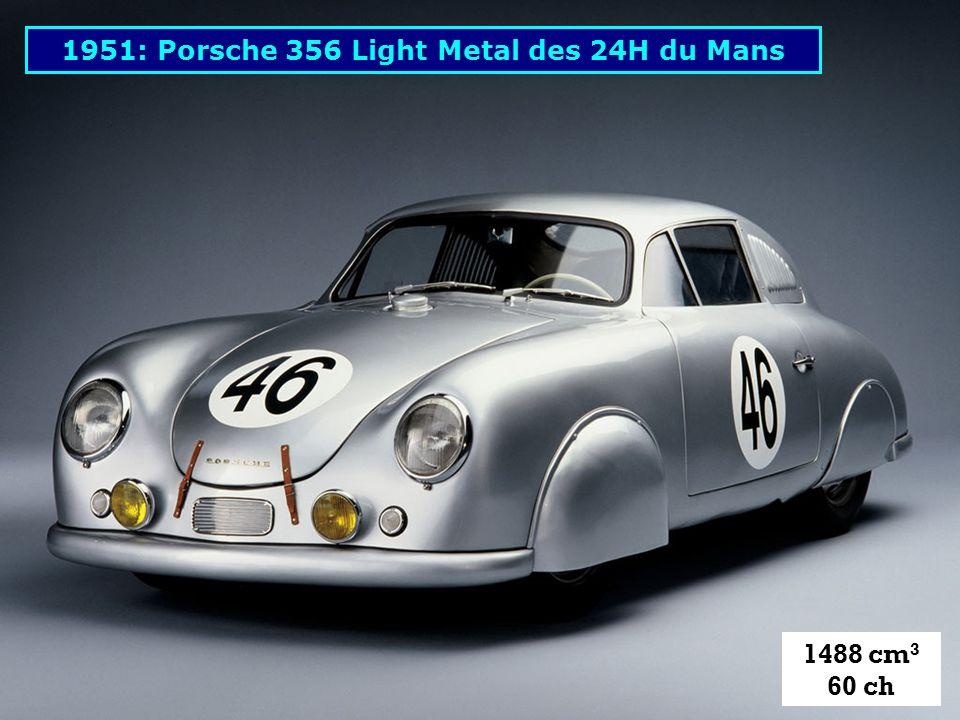 1951: Porsche 356 Light Metal des 24H du Mans