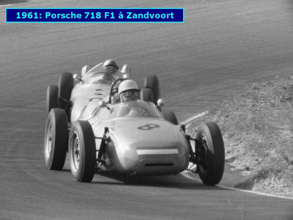 1961: Porsche 718 F1 à Zandvoort