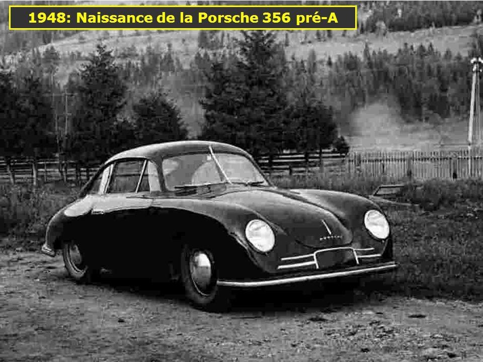 1948: Naissance de la Porsche 356 pré-A